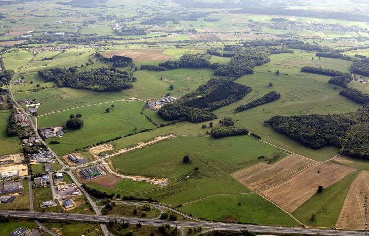 Parc d'Activités Ecovert de 64 ha divisibles à Vivier-au-Court dans les Ardennes 08 au Nord-Est de la France