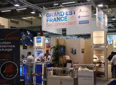 Les Ardennes étaient présentes au Salon International de l'Aéronautique et de l'Espace au Parc des Expositions du Bourget à Paris