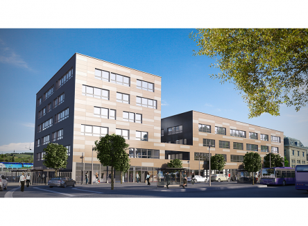 The Terciarys business centre was launched as part of the regeneration of Charleville-Mézières city in French Ardennes and met its objectives