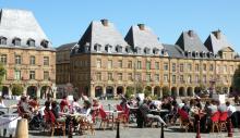 Les Ardennes : Communauté d'Agglomération de Charleville-Mézières/ Sedan Ardenne Métropole - Place Ducale