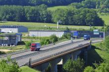 Les Ardennes : Communauté de Communes des Crêtes Ardennaises - Reims Charleville-Mézières Rethel - Autoroute A34