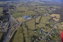 Les Ardennes : Communauté de Communes des Portes de France - Traversée de l'autoroute Amsterdam-Marseille, échangeurs