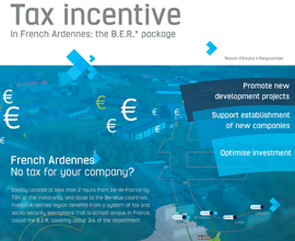 Tax incentive in French Ardennes: the B.E.R. package