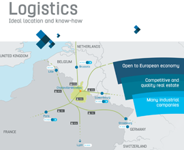 Logistics: ideal location and know-how