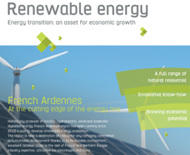 Renewable energy: Energy transition, an asset for economic growth